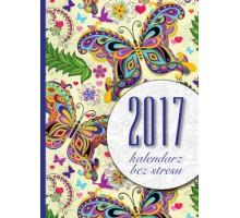 Kalendarz tygodniowy BEZ STRESU 2017 B6